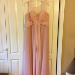 colour by kenneth winston bridesmaids dress